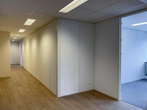 887 m2 projectinrichting<br>in de schoolvakantie