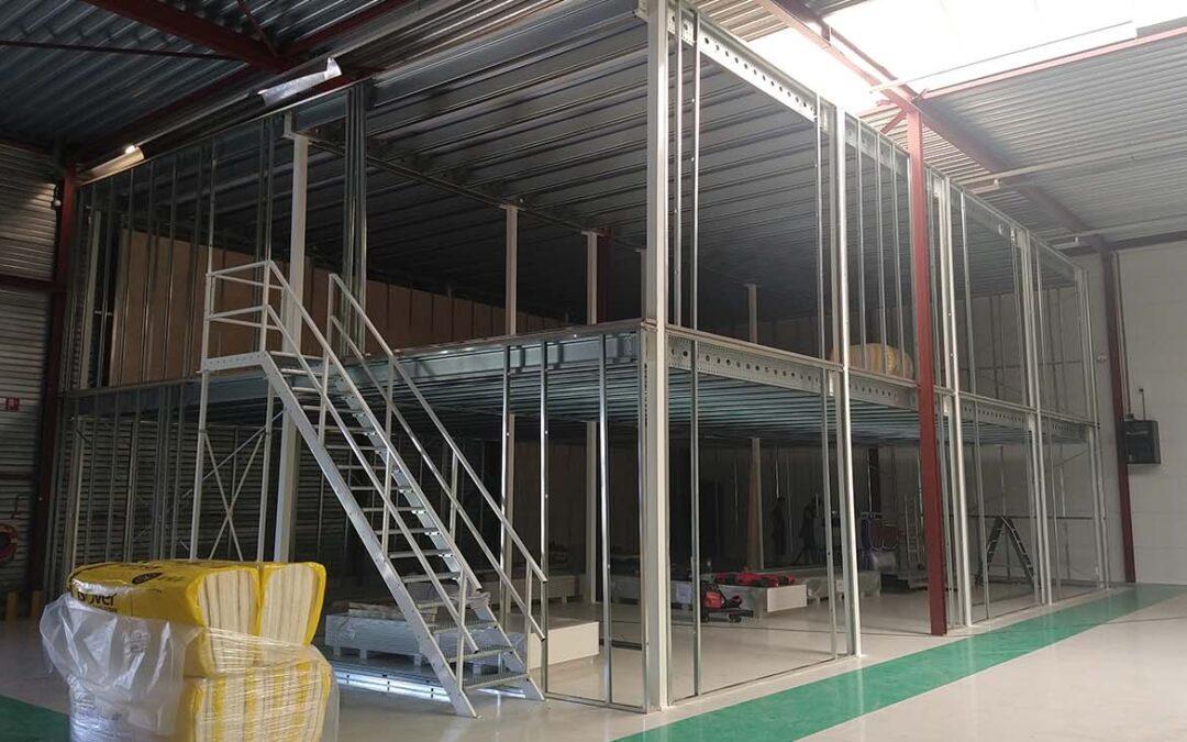 Compleet nieuwe kantine-unit met vergaderruimte en toilet